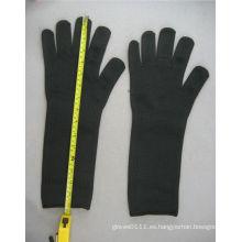 Alambre de acero Anit-Cut Nivel 4 Glove-2356
