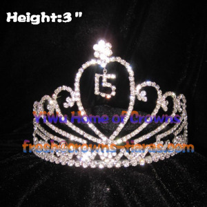 Birthday 15th Crystal Crowns