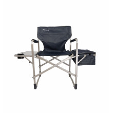Outdoor Camping Portable Director With Armrest Steel Folding Chair