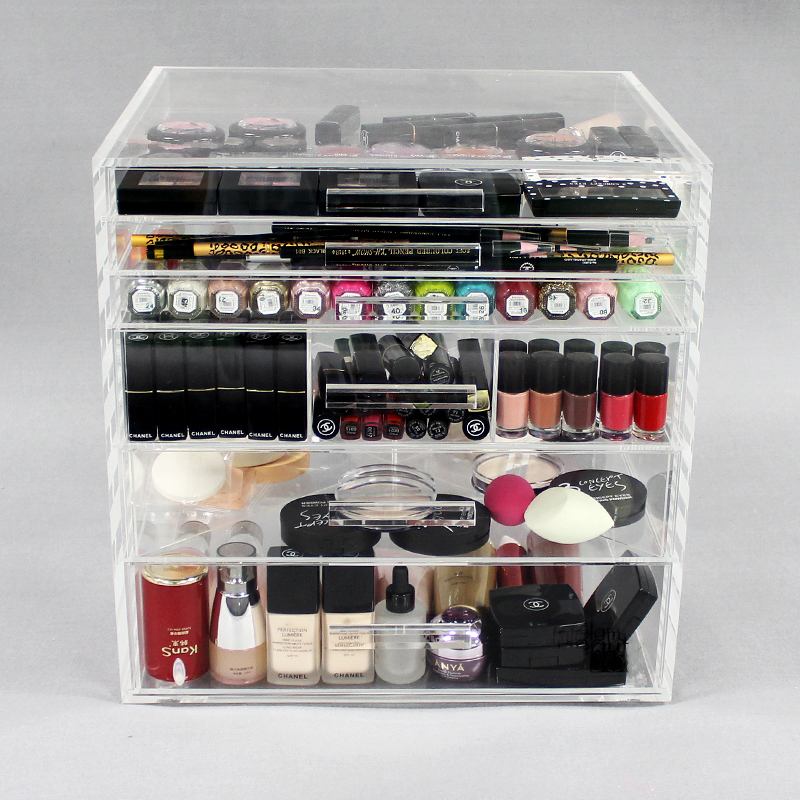 Acrylic Cosmetic Storage