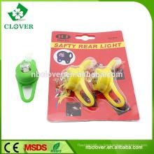 Холодный мальчиков силиконовые водонепроницаемые светодиодные передние фары велосипеда