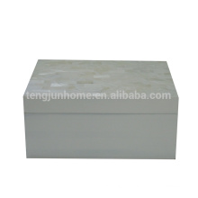 white freshwater shell hotel product fashion jewelry box