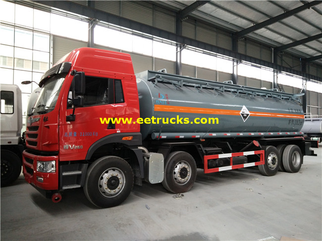18000L Dilute Sulphuric Acid Tank Trailers