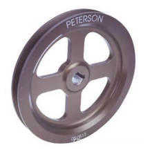 Small and Large Iron Casting V-Belt Pulley Wheels