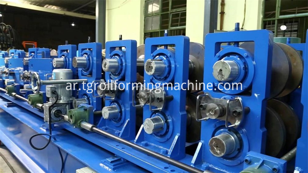 Elevator Stiffener Cold Roll Forming Machine