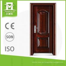 La puerta india simple 2016 diseña la puerta de entrada del hierro