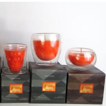 soy wax handmade double wall scented candles