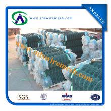 Горячая Загородка звена цепи Сделано в Китае/ звена цепи изготовления забора
