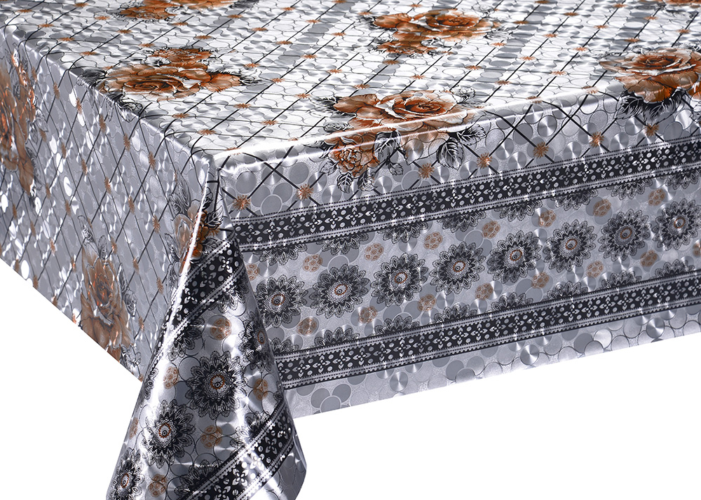Gold Double Face Coating Tablecloth