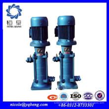 Fourniture professionnelle haute qualité industrielle haute pression pompe centrifuge verticale à plusieurs étages
