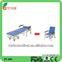 Chaise de perfusion / chaise de transfusion médicale