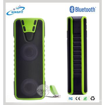 Bluetooth Водонепроницаемый динамик СИД Банк силы динамик фонарик