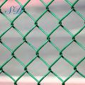 PVC-überzogener gesponnener Kettenglied-Zaun für Tier