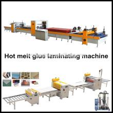 Máquina de laminación de cola de fusión en caliente / Máquina de puerta de sandwich