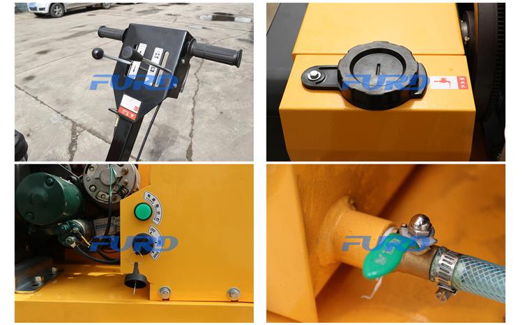 vibratory roller detail
