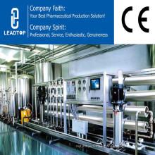 El equipo de desalinización del tratamiento de agua desmineraliza la máquina