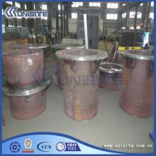 Wear resistant steel loading piping