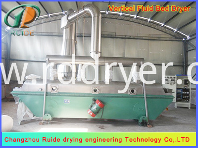 Crystal Material Fluid Bed Dryer