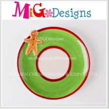 Plaque de céramique de cadeau de Noël de nouvelle conception de mode