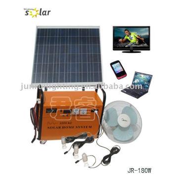 CE-Photovoltaik-Anlage für Familien using(JR-GD180W)