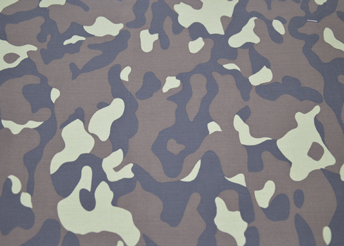 camouflage printed cloth