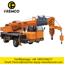 6 Ton Dump Truck With Crane Machine