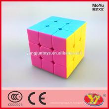 MoYu Weilong v2 mini version Cube de puzzle magique éducatif à 3 couches