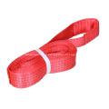 Élingue de levage ronde sans fin rouge