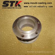 CNC de mecanizado de tornillo de aluminio para componentes industriales (STK-AS-0418)