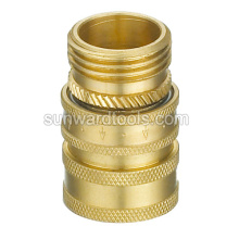 "3/4"" Brass Hose Connector"