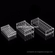 Labor-Acryl-Reagenzglasgestell 23mm * 40-fach