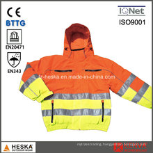 Hi-Vis Waterproof Safety Reflective Jacket