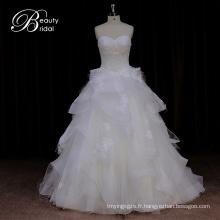 Dorisquees Alibaba en ligne vente chaude robe de mariée en organza De Chine