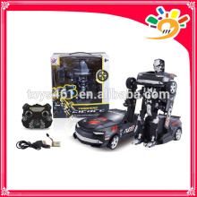 2.4G Rc Modell rc Auto Spielzeug verwandeln rc Roboter