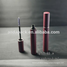 Spray Sand Aluminum Mascara Container