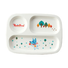 Vaisselle 100% en mélamine pour enfants-Série Enfants Divisé (MRH18002)