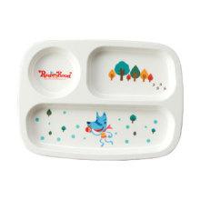 100% меламин посуда-серии Kid Детская разделена плиты (MRH18002)