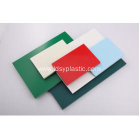 Colorful and Rigid PVC Rigid Sheet