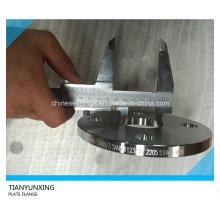 Dn40 Sans1123 Brida de placa Brida de acero inoxidable