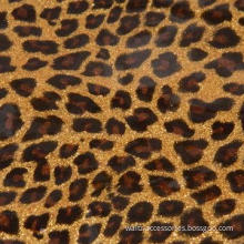 Leopard Grain PU Leather, Suitable for Shoe Upper, Decoration, Insole and More