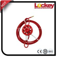 Bloqueo de seguridad ajustable económico del cable del acero inoxidable