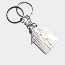 Promoción conjunto de regalo Pareja de metal Pareja llavero en forma de pareja (F1246)