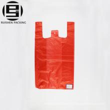 Rote Farbe T-Shirt Tasche günstigen Preis und Verpackung