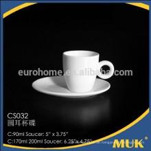 2015 neuer heißer Verkaufsmasse-Kauf von Porzellan-Luxuxfeinporzellankaffeetasse und -untertasse des Porzellans