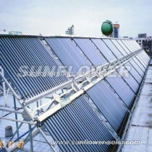 Flexible solar hot water