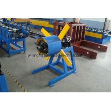 3 Tonnes Color Sheet Metal Simple Uncoiler