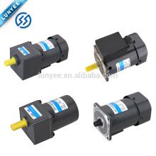 Motor de indução elétrica pequeno de 120w ac com caixa de engrenagens