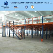 Supports de toit de mezzanine de rayonnage puissant de fil