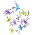 Colorful Dancing Butterfly Garden Décoration en métal pour mur