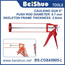 Heavy Duty Mute Aluminium Tube Caulking Gun
